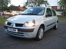 2001 Renault Cio 1.2 Manual *Genuine 26K Miles*1 Mature Lady Owner*4 New Tyres*