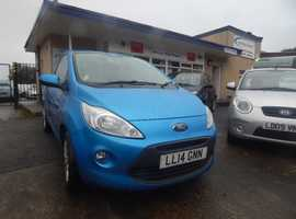 Ford Ka Zetec 2014 (14) Blue Hatchback