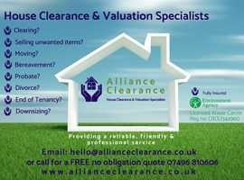 Partial or full house clearance service. A service that meets YOUR NEEDS