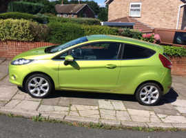 Ford Fiesta, 2009 (09) Green Hatchback, Manual Petrol, 84,555 miles