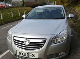 Vauxhall Insignia, 2011 (11) Silver Hatchback, Manual Petrol, 85,000 miles