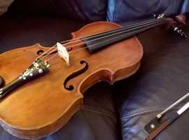 French Violin Causin 1800. Full sized. Ready to Play!