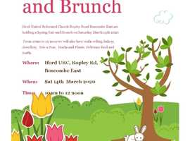 Spring Fair and Brunch Saturday 14th March