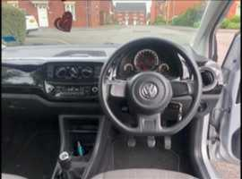2014 Volkswagen Move Up! Tungsten Silver 3 door, £20 tax long mot