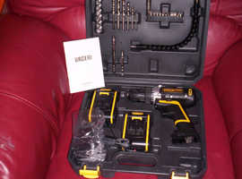 BRAND NEW URCERI Cordless Electric Drill 21V Driver Kit
