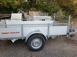 Trident 8 x 4 car trailer