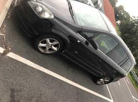 Vauxhall Zafira, 2007 (07) Black MPV, Manual Diesel, 85,680 miles
