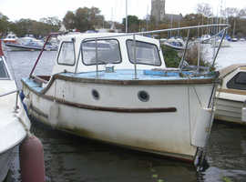 Colvic 20 foot fishing boat Christchurch Harbour