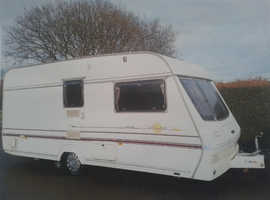 2 Berth Lunar Solar 462 1997 With Full Size Awning, Motor Mover & Extras (With Options-see Advert)