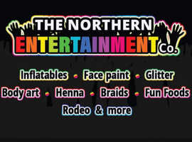 Bouncy castles, face painting and mobile disco hire!