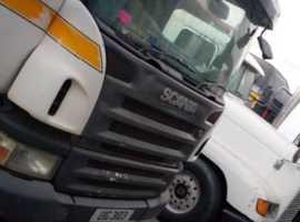2005 scania tipper truck