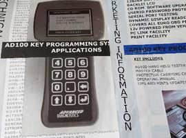Automam ad 100 key programming system