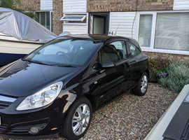 Vauxhall Corsa, 2009 (59) Black Hatchback, Manual Petrol, 81,729 miles