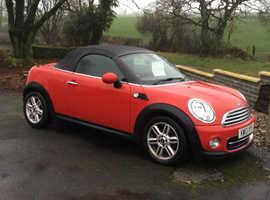 Mini MINI ROADSTER, 2013 (13) Red Convertible, Manual Petrol, 39,195 miles
