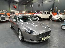 Aston Martin Db9, 2004 (04) Silver Coupe, Automatic Petrol, 30,211 miles