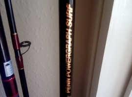 10 sea fishing rods & beach rods