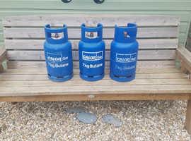 kg butane gas bottle + Gas Regulator