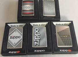 WANTED Zippo Cigarette Lighters