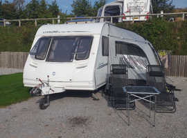 Sterling Europa touring  caravan 495 fixed bed 2007