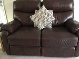 Leather sofa : Barker & Stonehouse