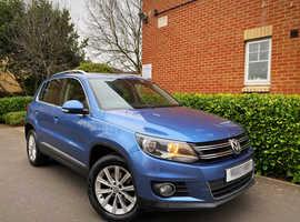 "2013 13 REG Volkswagen Tiguan 2.0 TDI BlueMotion Tech SE 2WD (s/s) 5dr "" HPI CLEAR """