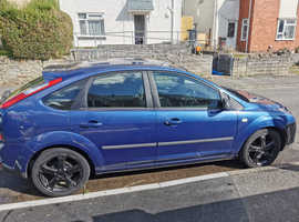 Ford Focus, 2007 (07) Blue Hatchback, Manual Petrol, 146,000 miles