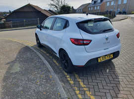 Renault Clio, 2015 (15) White Hatchback, Manual Petrol, 32,000 miles