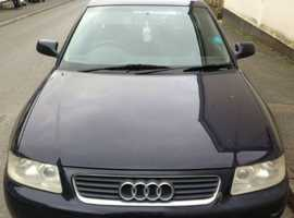 Audi A3, 2002 (02) Blue Hatchback, Manual Diesel, 117,000 miles