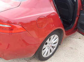 Jaguar XE, 2015 (65) Red Saloon, Manual Diesel, 58000miles