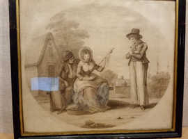 Charles Knight   etching 1786  Love and Jealousy