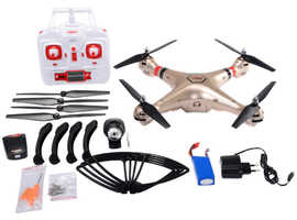 COSTWAY Syma X8HC 4CH RC Quadcopter Drone with Camera (TY556374)