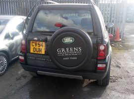 Land Rover Freelander, 2004 (54) Black Estate, Manual Diesel, 140,000 miles