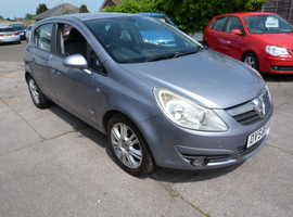 Vauxhall Corsa, 2008 (58) Silver Hatchback, Manual Petrol, 94,000 miles