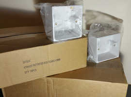 For Sale     TRADE 1 gang 47mm Surface Mounted Box   £1.00 each box.