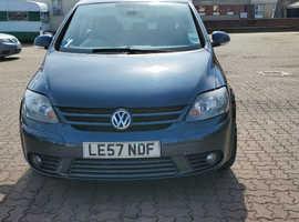 Volkswagen Golf Plus, 2008 (57) Blue Hatchback, Manual Diesel, 127,932 miles
