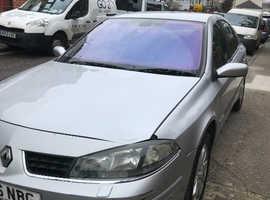 Renault Laguna, 2006 (56) silver saloon, Manual Diesel, 117000 miles