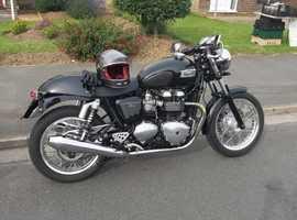 Triumph Thruxton 900cc 2013