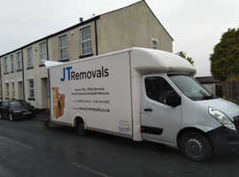 JT removals, fully insured house removals in all Manchester areas. Will beat all quotes!