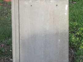 Redland Concrete Slate Grey flat Roof Tiles