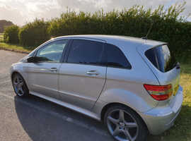 Mercedes B-CLASS, 2006 (06) Silver Hatchback, Manual Petrol, 106,500 miles