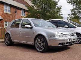 Volkswagen GOLF V5, 2000 (X) Silver Hatchback, Manual Petrol, 141,176 miles