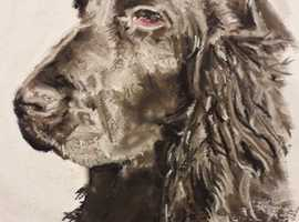 Custom made pet portraits by Debbie Stacey