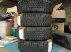 235/55 R19 Continental Cross Contact Winter Tyres