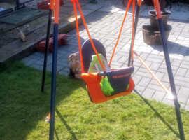 Child's garden swing for sale