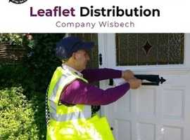 Leaflet Distribution company Wisbech