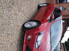 Ford Focus, 2011 (61) Red Hatchback, Manual Petrol, 57,000 miles