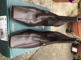 Ladies Hogl Brown Leather Boots