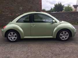 VW BEETLE 1.9 TDI, AIRCONDITIONING, ELECTRIC SUNROOF + ALLOYS