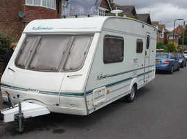Swift Signature 17/4 2002 Touring Caravan with motor mover & awning