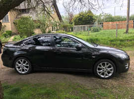 Mazda MAZDA 6, 2009 (59) Black Saloon, Manual Petrol, 117,018 miles